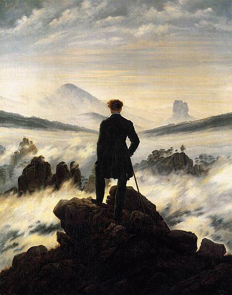 Caminhante Sobre o Mar de Nevoa_Caspar David Friedrich